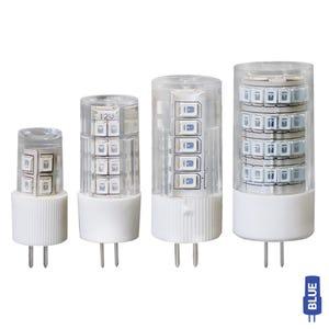 G4 Bi-Pin LED Color Lamp (Deep Blue, Omnidirectional)