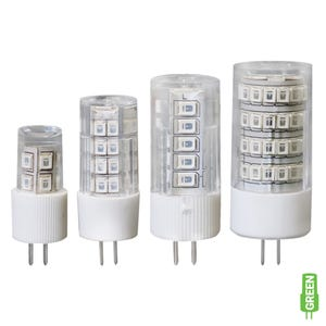 G4 Bi-Pin LED Color Lamp (Leafy Green, Omnidirectional)