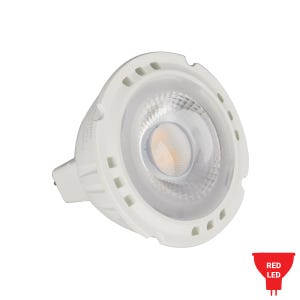 Multi Source LED MR16 Color Lamp (6W, Rich Red)